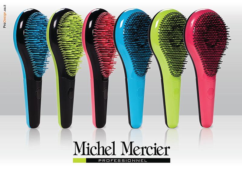 Michel Mercier Detangling Hair Brush Review Tea Amp Nail