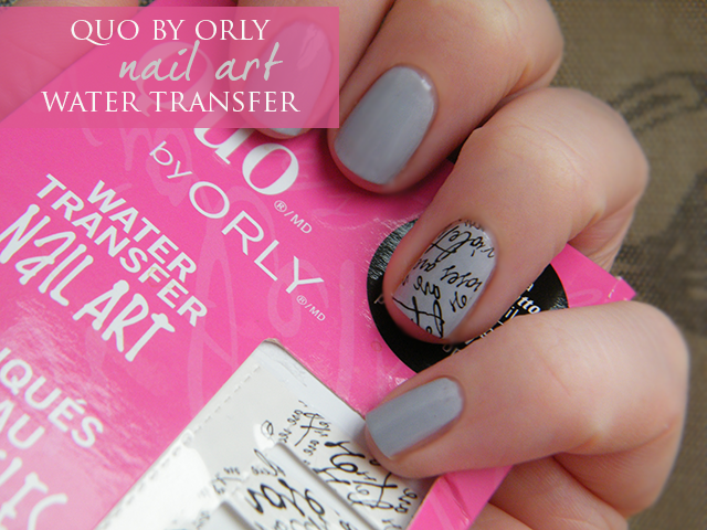 Quo by Orly Nail Art Water Transfers