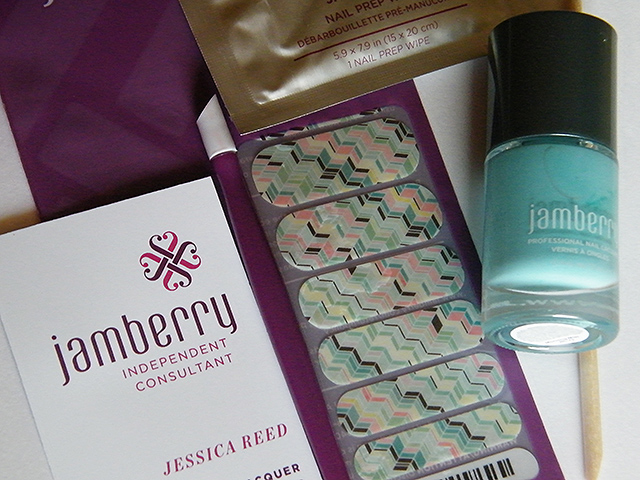 Jamberry Nail Wraps Lacquer Review & Giveaway