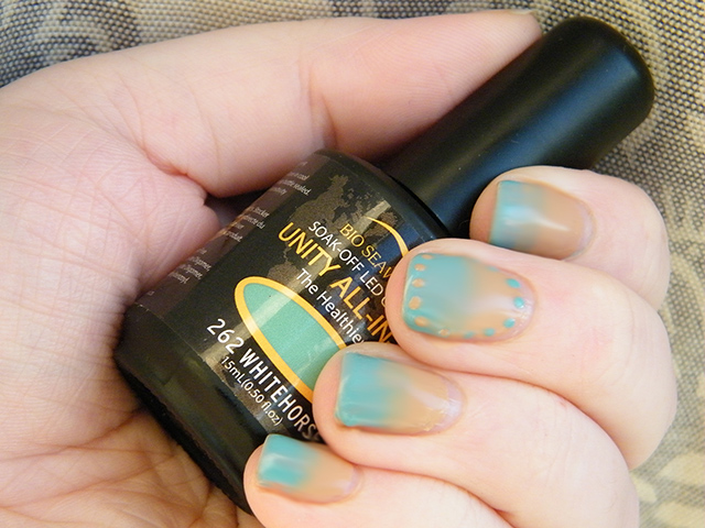 Bio SeaWeed Oil Nail Polish Review NailArt Small