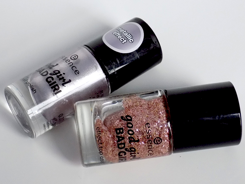 Essence Hello Sweetheart Good Girl Bad Girl Nail Polish Swatches & Review