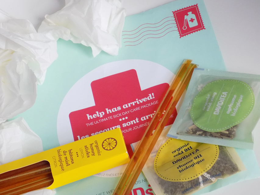 DavidsTea Sick Day Care Package