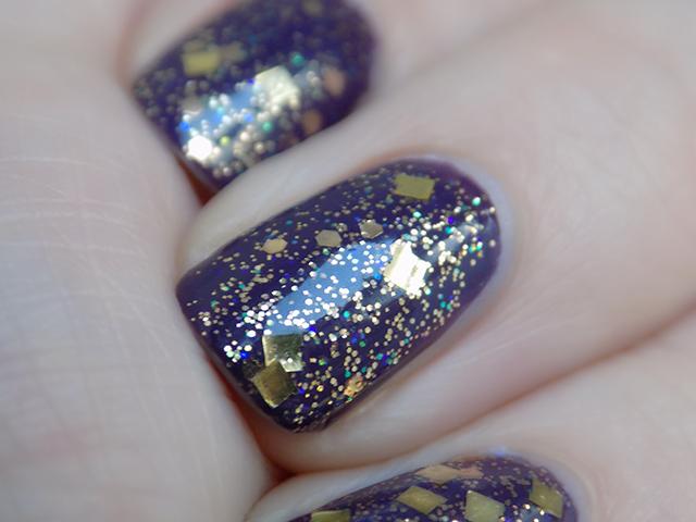 thefaceshop Trendy Nails Glitter GLI016 swatch