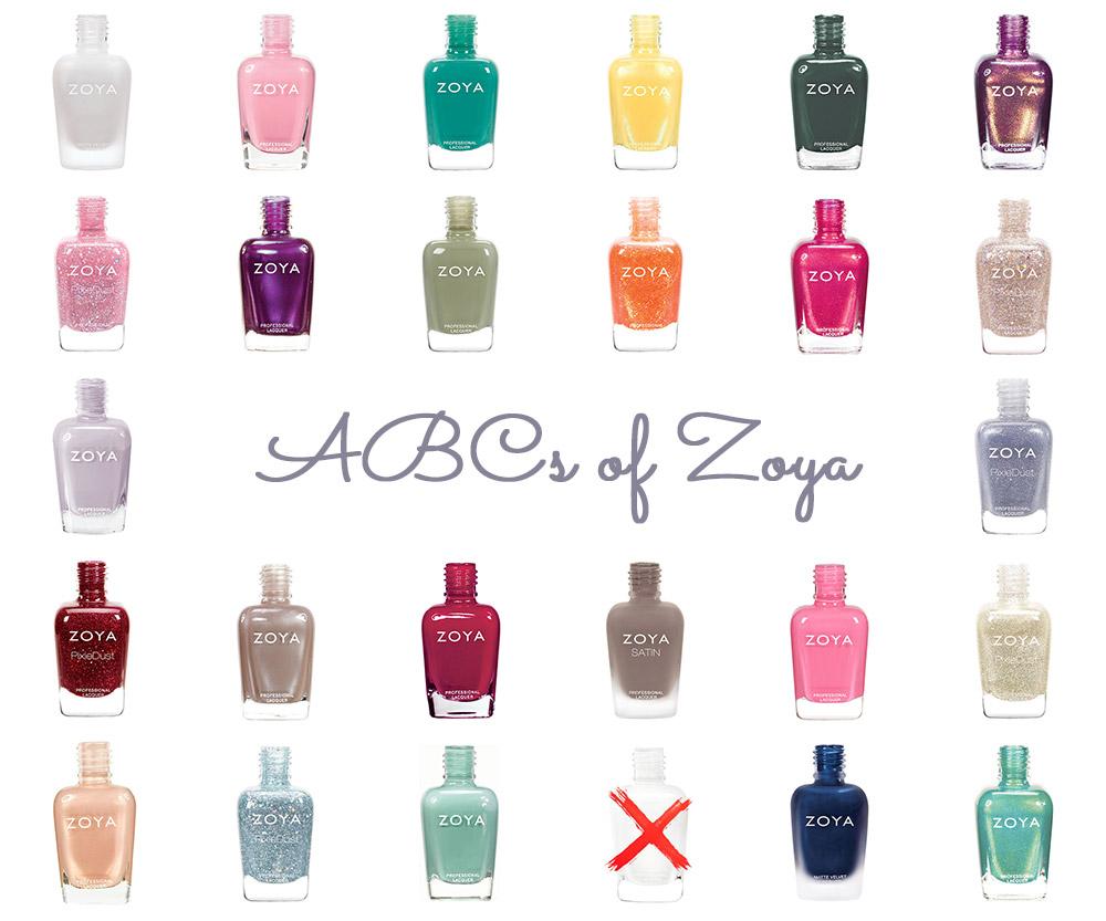 ABCs of Zoya