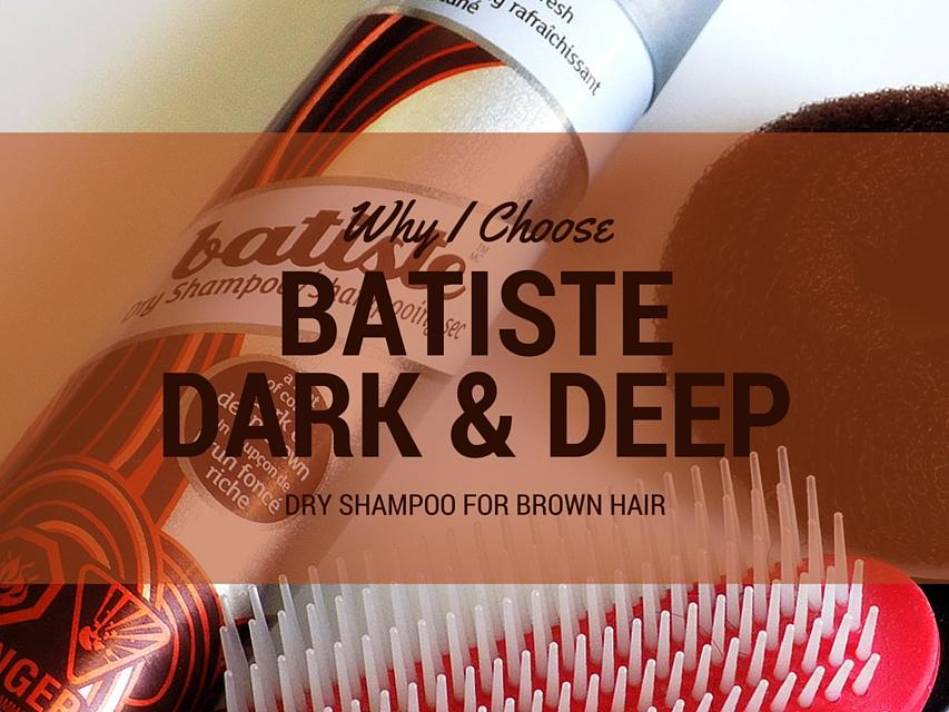 Dry Shampoo Comparison Batiste Dark and Deep Shares