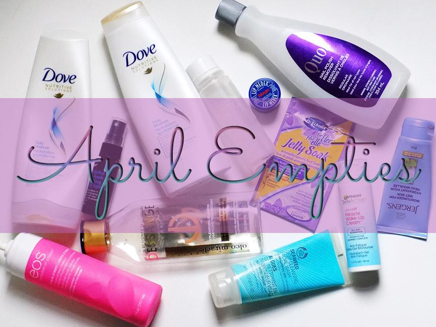 April Empties Shares