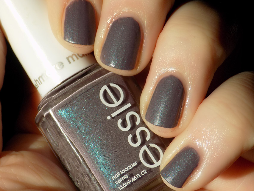 Essie Coat Couture Swatches + Nailart - Tea & Nail Polish