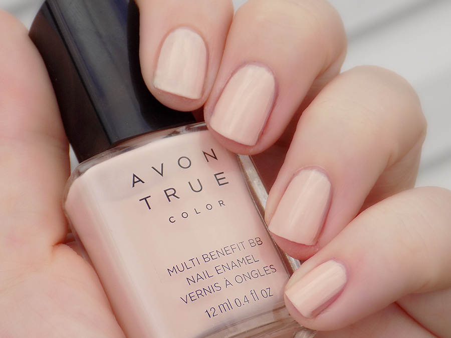 Avon True Colour Bb Nailwear In Perfect Pink Swatches