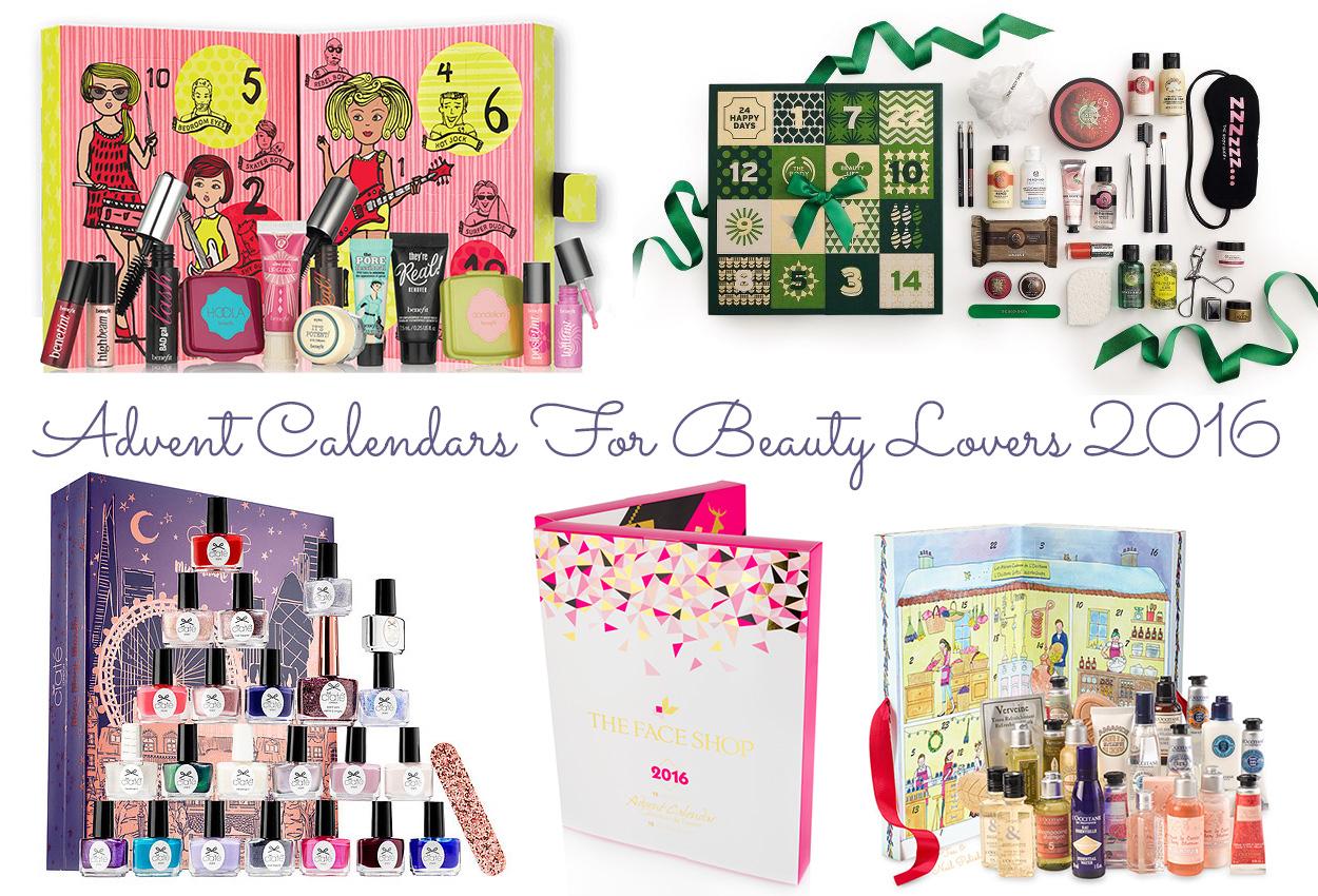 Advent Calendars 2016 : Canadian beauty advent calendar options tea nail polish