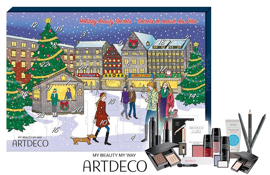 Art Deco Advent Calendar : Artdeco canada beauty advent calendar shoppers drug