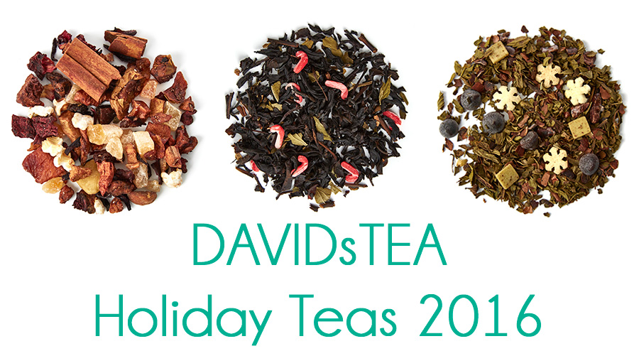 DavidsTea Holiday Teas 2016 Sneak Peek