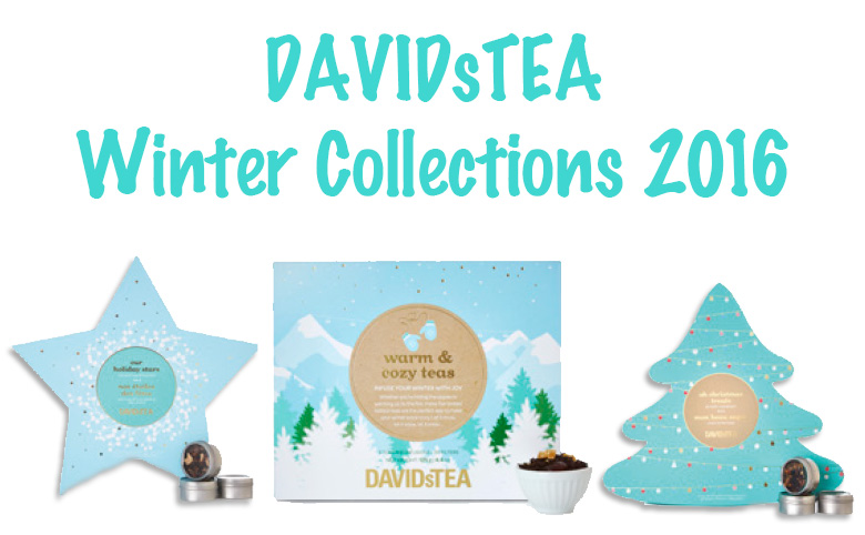 DavidsTea Holiday - Winter Collections - Header