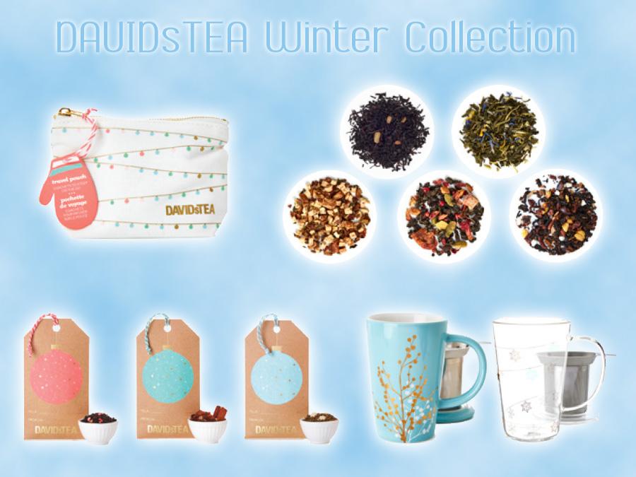 DavidsTea Winter Collection
