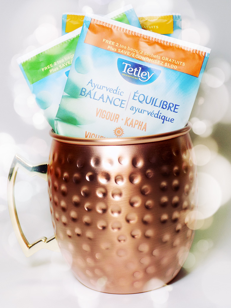 Tetley Ayurvedic Balance - Cool Poise and Vigour in Avon Copper Cup