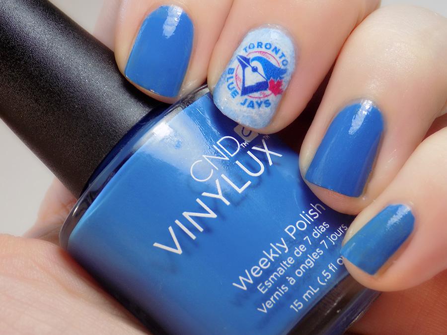 Toronto Blue Jays Nail Art ALCS Game 1 2016 Canadian Nail Art