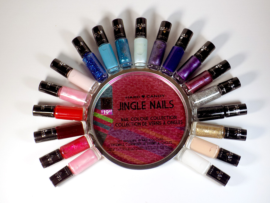 Hard Candy Jingle Nails Set - All Polishes - 2016 Set