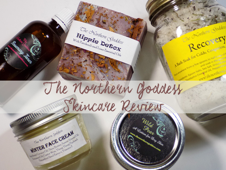 The Northern Goddess - Skincare Review - Craftadian Show maker