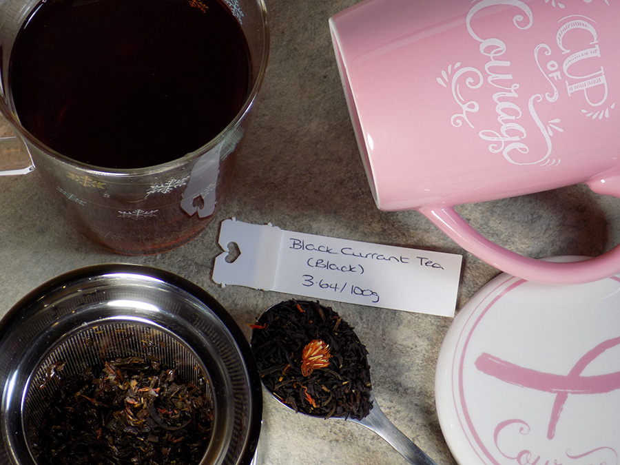 Bulk Barn Black Currant Black Tea Review - Brewed with Cups