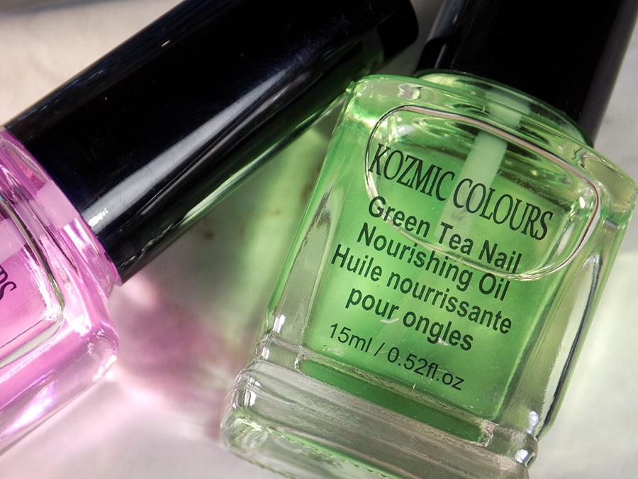 Mariposa Kozmic Colours Nail Therapy Set - Green Tea Nail ...