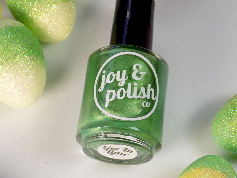 Joy and Polish Get In Lime - Bottle Shot 2