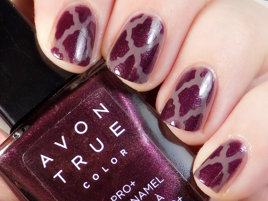 Kayla Ray Moroccan Vinyls with Avon Polishes 3