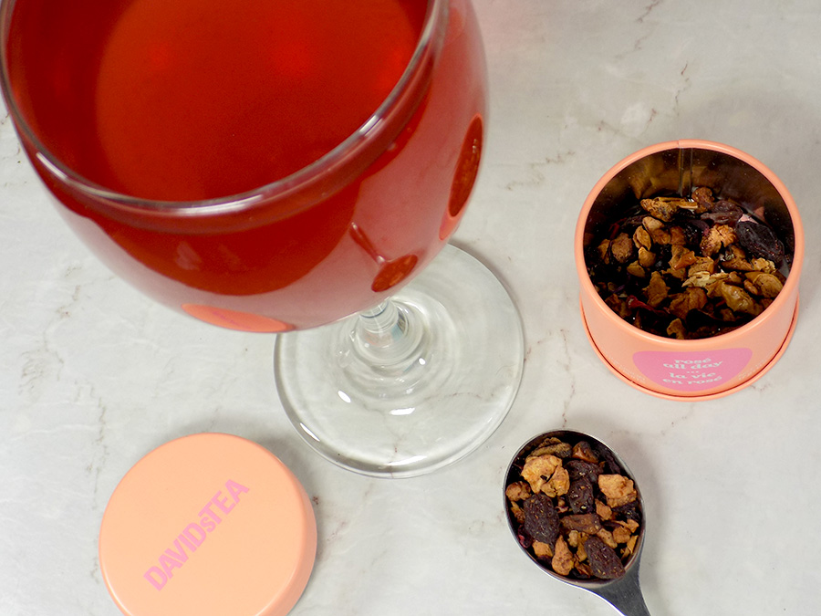 DavidsTea Rosé All Day Tea Review - 2017 Davids Tea Cocktail Collection Tea Review 2