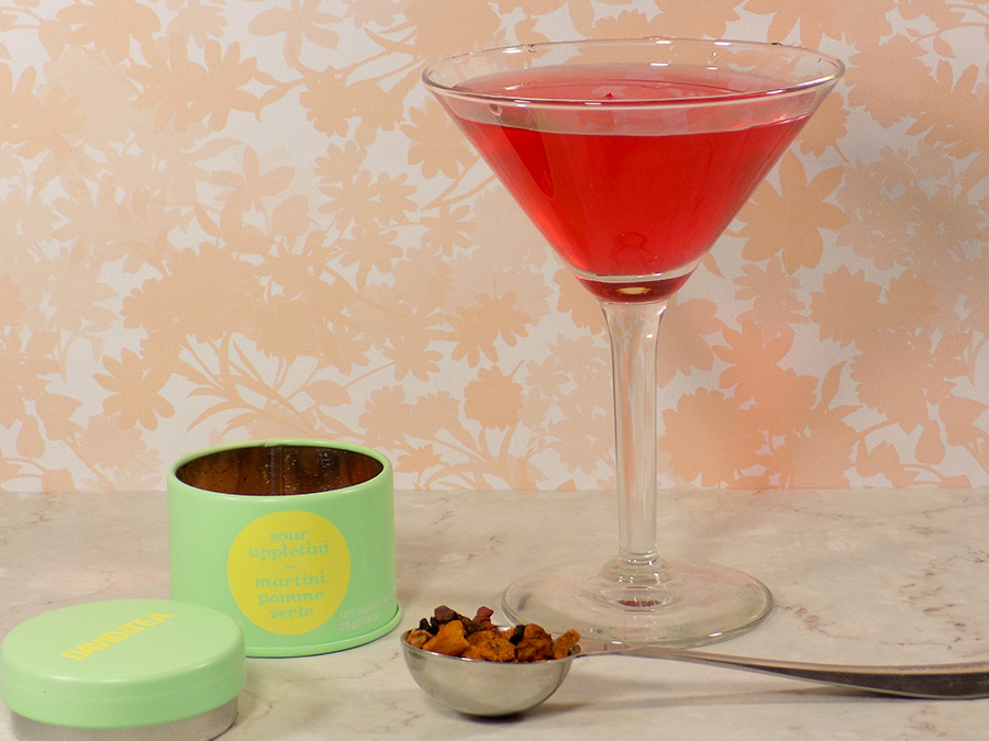 DavidsTea Sour Appletini Tea Review - 2017 Davids Tea Cocktail Collection Tea Review