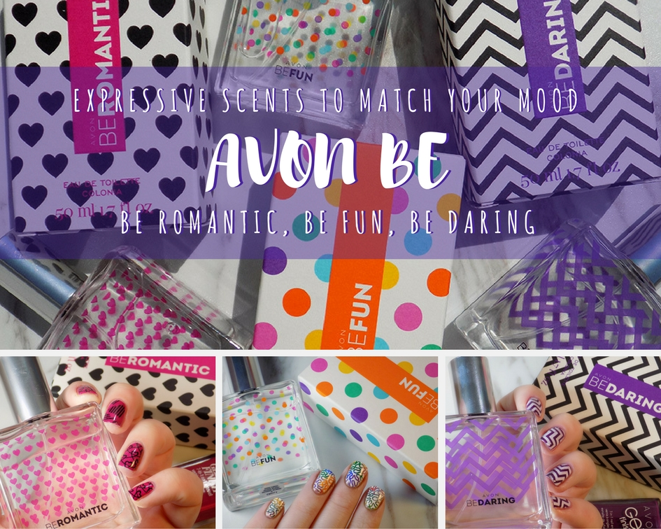 Avon Be Romantic - Be Fun - Be Daring Reviews and Nail Art