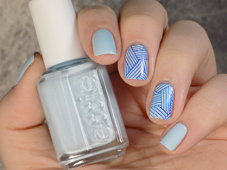 Essie Blue La La Swatches & Review - Tea & Nail Polish