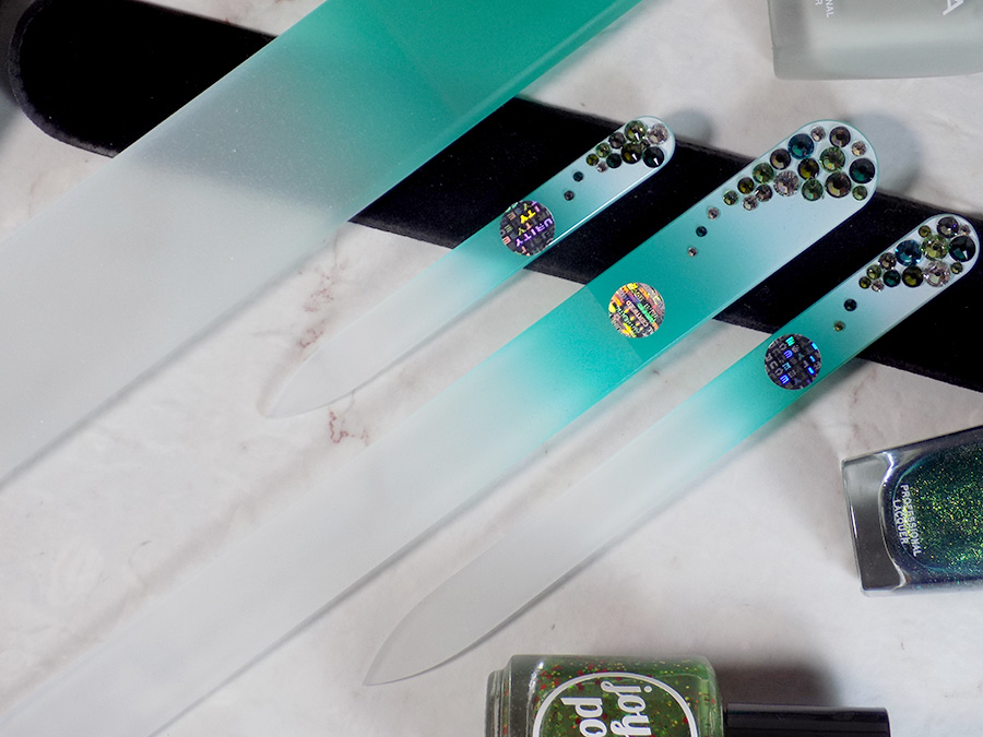 Mont Bleu Crystal Glass Nail Files Review