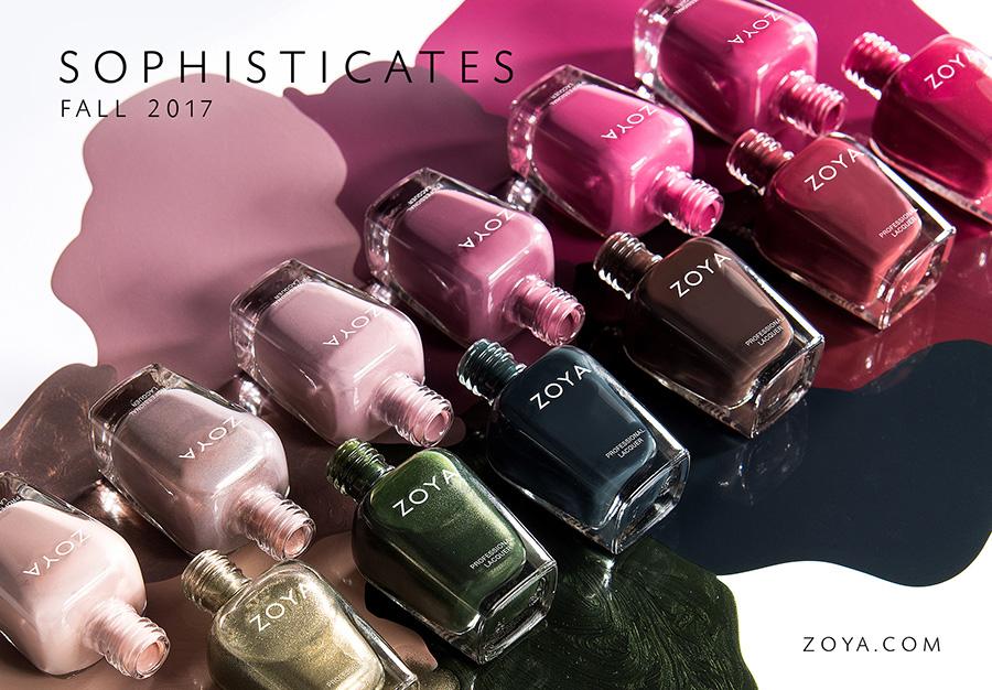 Zoya Fall 2017 Sophisticates Nail Polishes