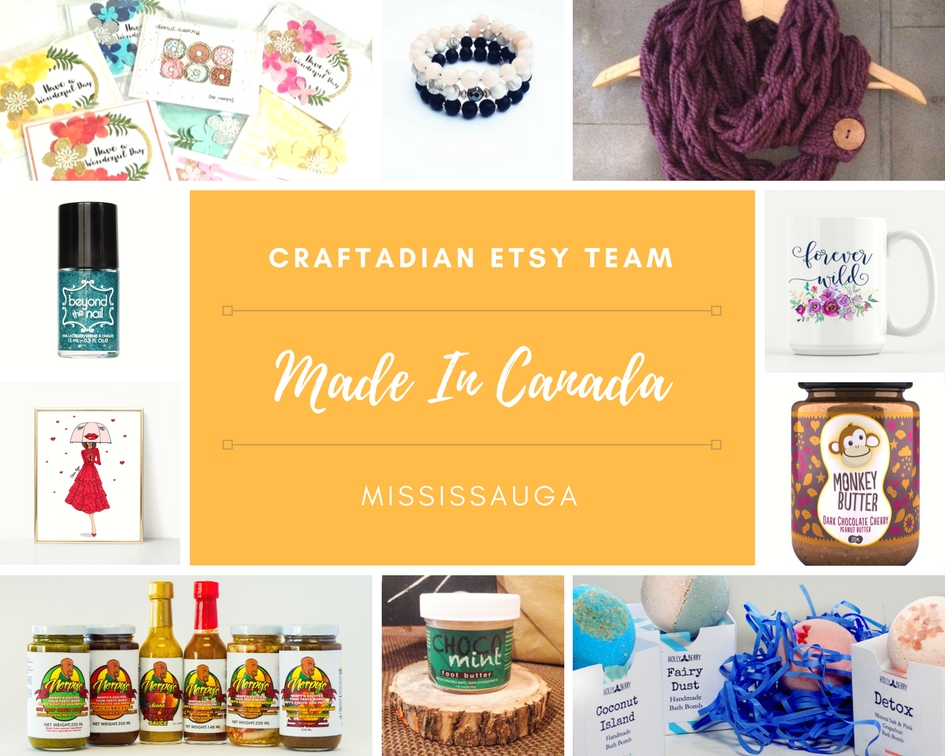 craftadian etsy team mississauga made in canada