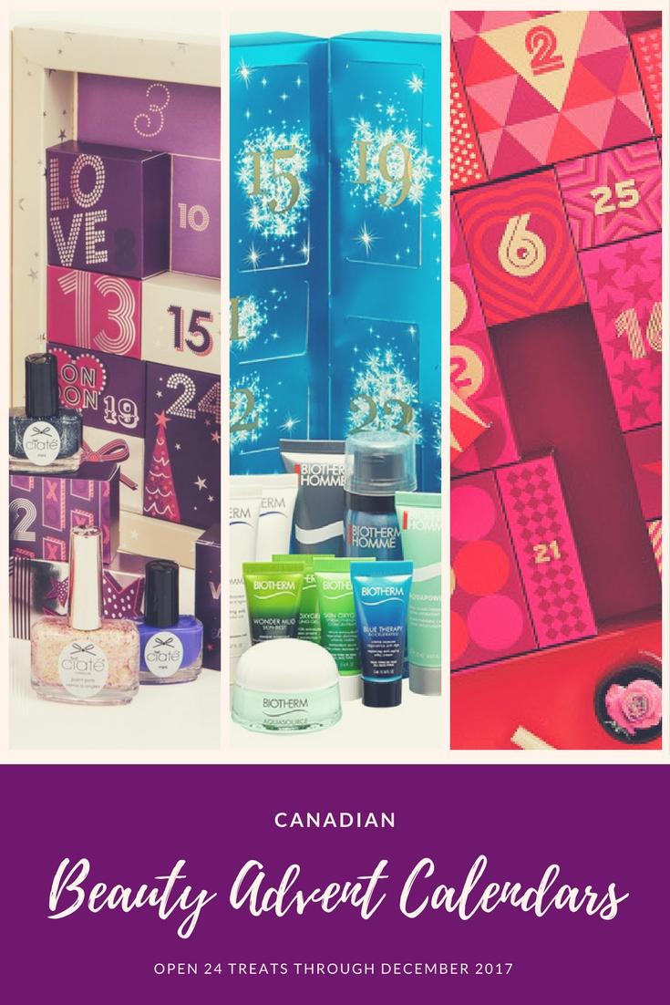Art Deco Advent Calendar : Canadian beauty advent calendars for the body shop