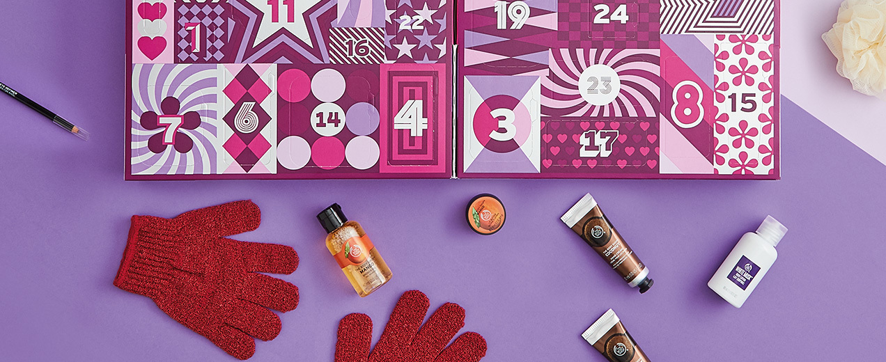 The Body Shop 2017 Beauty Advent Calendars