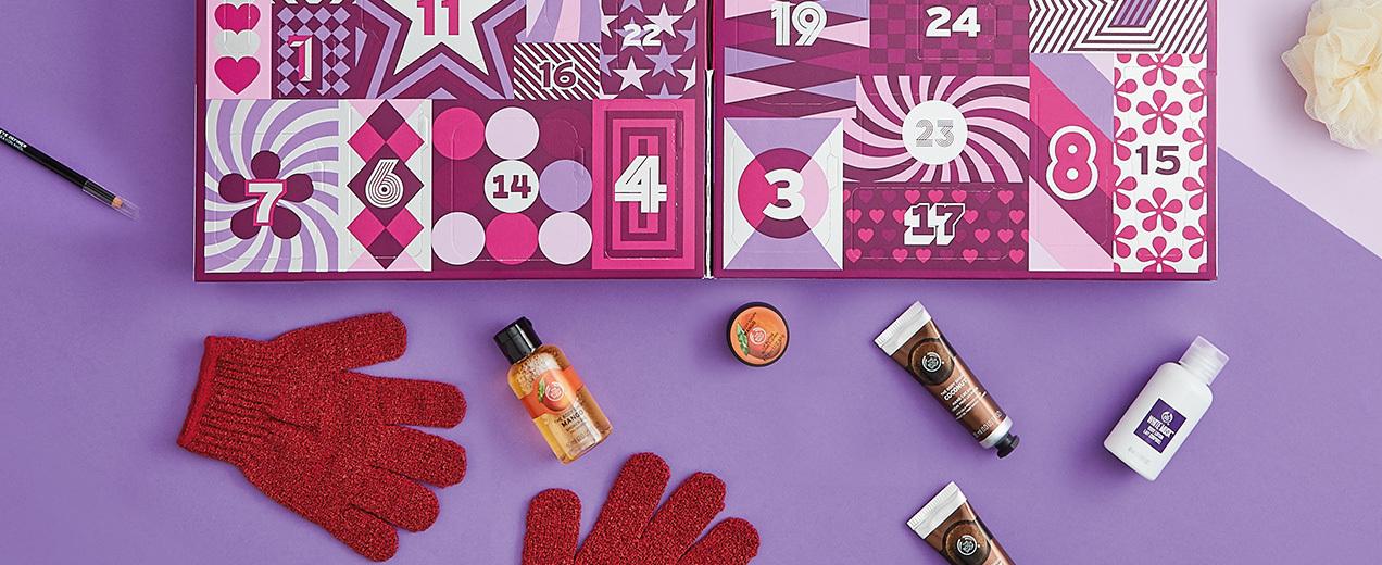The Body Shop 2017 Beauty Advent Calendars