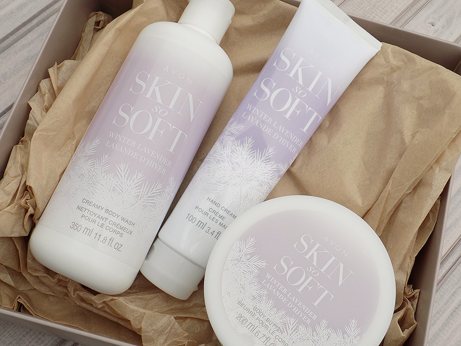 Avon Skin So Soft Winter Lavender Collection review
