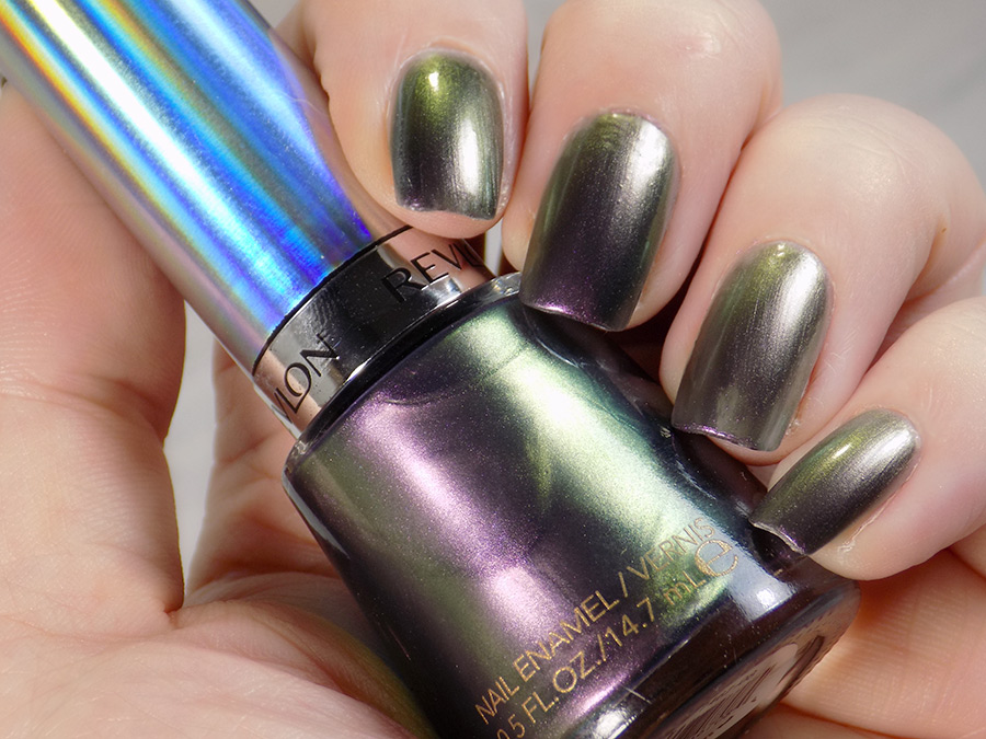 Revlon Amethyst Smoke Duochrome Swatches and Review ...